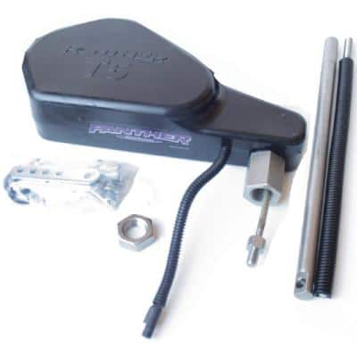 T5 Electro Steer (Without Electronics, Remote or Relay Switch Box) For Kicker Motor With Pro 3 Trollmaster, Black