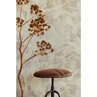 Botticino Grey Marble Wallpaper