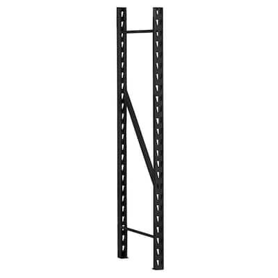 78 in. H x 1.5 in. W x 24 in. D Steel Welded Frame for Storage Rack