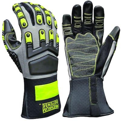 Premium Defense Large Monster Grip Gloves