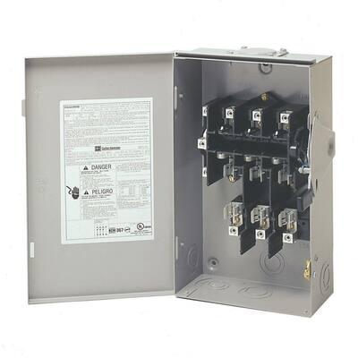 60 Amp 120/240-Volt 14,400-Watt Fused General-Duty Safety Switch