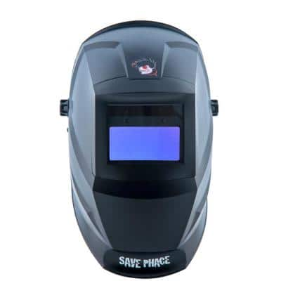 Bubba Down-N-Dirty Series Welding Mask 4 in. x 4 in. Internal Adjustable ADF UV/IR Protection