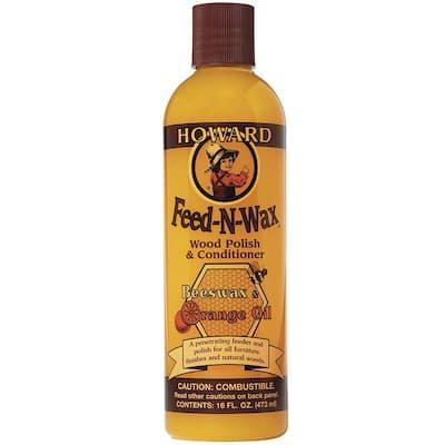 16 oz. Feed-N-Wax wood polish
