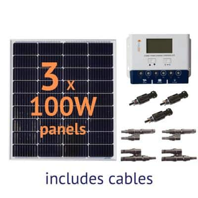300-Watt Off-Grid Solar Panel Kit