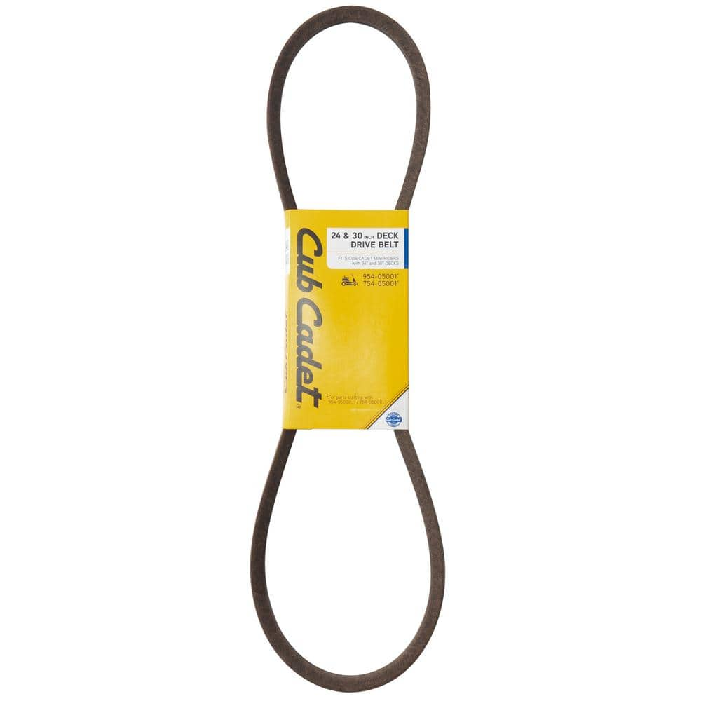 Cub Cadet Original Equipment Deck Drive Belt for Select 24 in. and 30 in. Rear Engine Riding Lawn Mowers OE# 954-05001