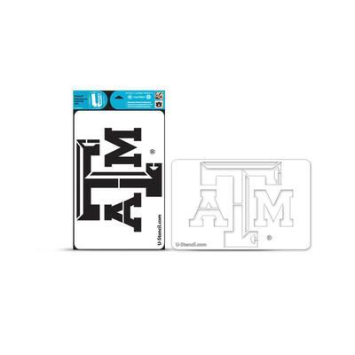 Texas A and M Multi-Purpose Stencil