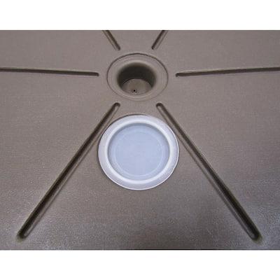 1.7 lb. Patio Umbrella Base in Bronze
