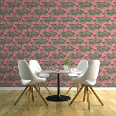 Mini Palms Vinyl Peelable Wallpaper (Covers 36 sq. ft.)