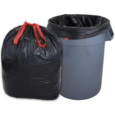 33 Gal. Drawstring Trash Bags (150-Count)