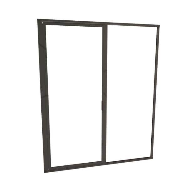 Redi Swing 1100 Series 58 In W X 72 1 8 In H Framed Swing Shower Door In Oil Rubbed Bronze With Pull Handle And Clear Glass 11rcofp05872 The Home Depot