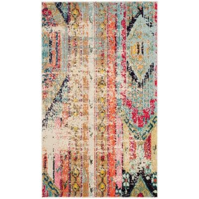 Monaco Multi 3 ft. x 5 ft. Area Rug