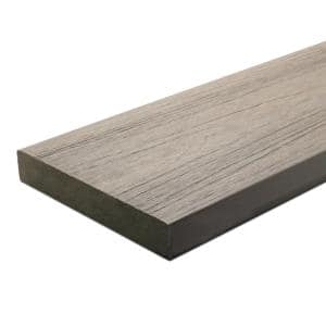 UltraShield Naturale Cortes 1 in. x 6 in. x 16 ft. Roman Antique Solid Composite Decking Board (10-Pack)