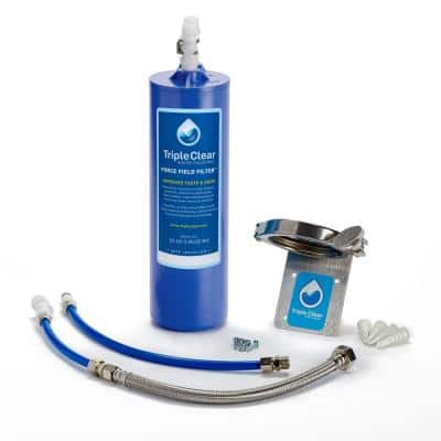 Force Field - Under the Sink 5 in. Point of Use Water Filtration with Carbon