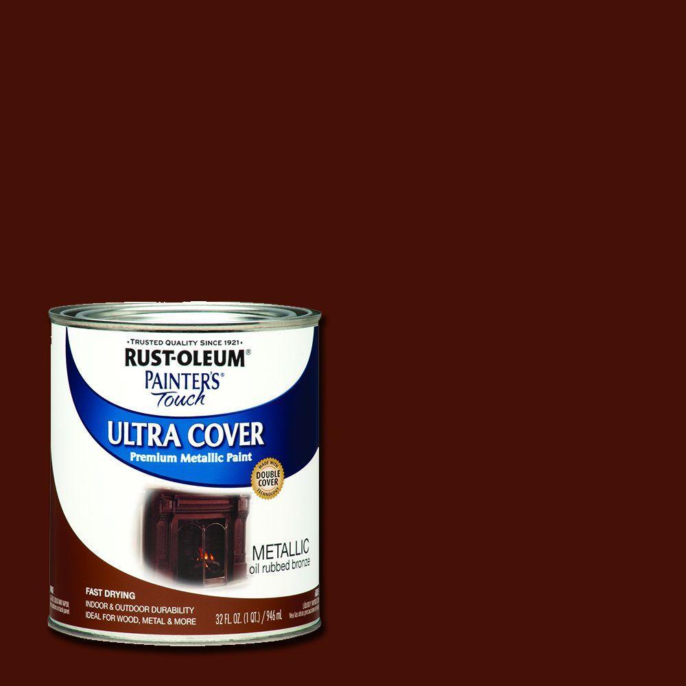32 oz. Ultra Cover Metallic Oil Rubbed Bronze General Purpose