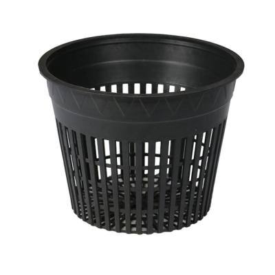 6 in. Slotted Plastic Mesh Round Cup Net Pot Set (24-Pack)