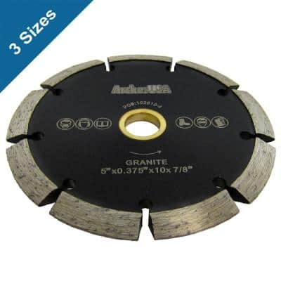 5 in. Crack Chaser Diamond Blade for Concrete Repair