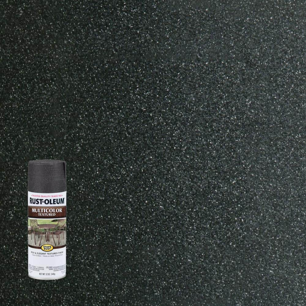 Rust-Oleum Stops Rust 12 oz. MultiColor Textured Aged Iron Protective Spray Paint