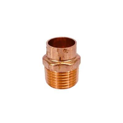 1/2 in. Copper Cup x MIP Male Adapter (25-Pack)