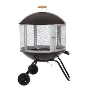 Heatshield Products Deck Armor Fire Pit And Deck Heat Shield Round 36 In Dia Withstands 1200 F Constant Fps004 The Home Depot