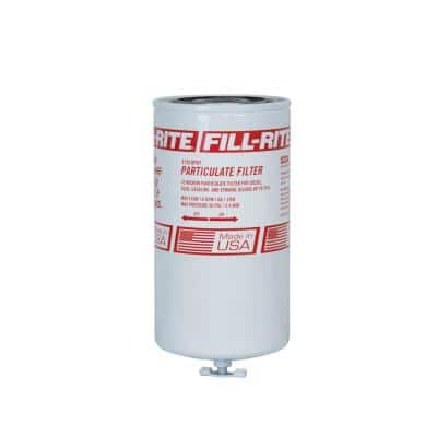 1 in. 12 UNF 18 GPM (68 LPM) Utility Accessory Particulate Spin-On Fuel Filter with Drain