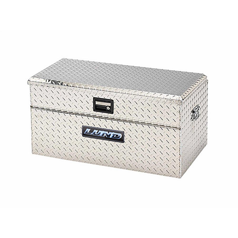 40 in Aluminum Storage Box, Silver