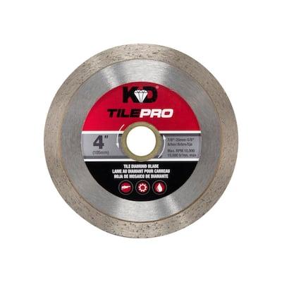 4 in. Diamond Continuous-Rim Circular Saw Blade