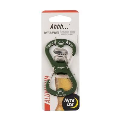 Ahhh S-Biner Aluminum Olive Bottle Opener
