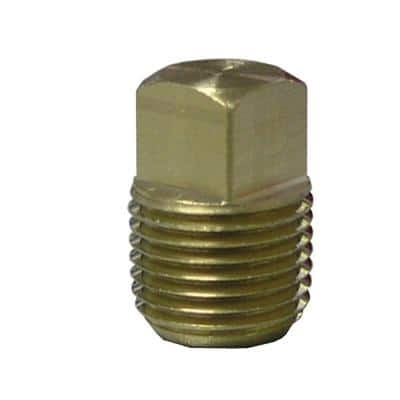 1/4 in. MIP Brass Plug Fitting