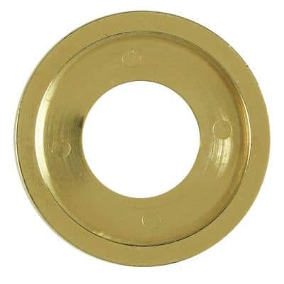 Flange Ring in Polished Brass