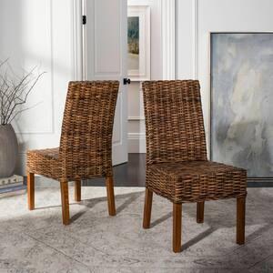 Sanibel Brown Mango Wood Side Chair (Set of 2)