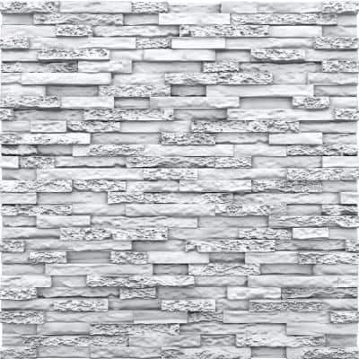 Stone 2ft. x 2ft. Seamless Foam Glue-up Wall Panel (48 Sq. Ft. / Pack)