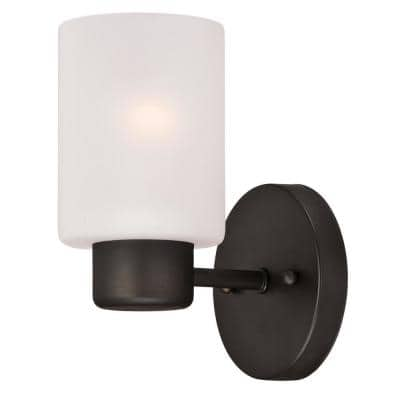 Sylvestre 1-Light Oil Rubbed Bronze Wall Mount Sconce