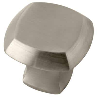 Mandara Knob for Pivot Shower Door in Nickel