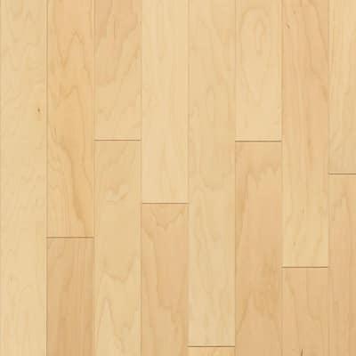 Natural Maple 3/8 in. T x 3 in. W x Random Length Engineered Hardwood Flooring (22 sq. ft./case)
