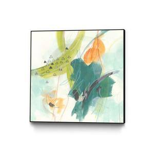 30 in. x 30 in. ''Skipping Stones I'' by June Erica Vess Framed Wall Art