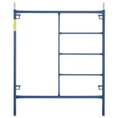 Saferstack 6 ft. H x 5 ft. W 1-Story Steel Mason Scaffold Frame Set with Coupling Pins and Spring Locks