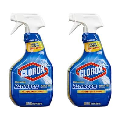 30 oz. Disinfecting Bleach Free Bathroom Cleaner (2-Pack)