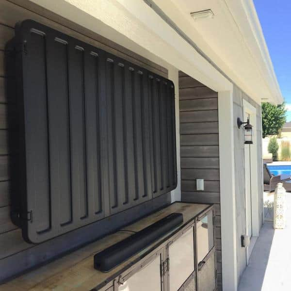 Storm S Outdoor Tv Hard Cover, Outdoor Tv Mounts Ceiling