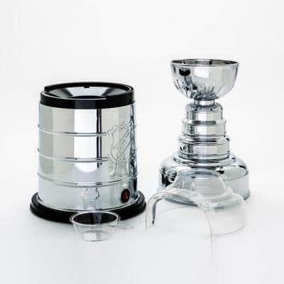 NHL Stanley Cup 3 oz. Electroplated Silver Countertop Popcorn Machine