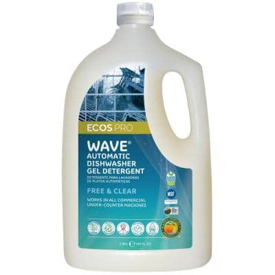 Wave 100 oz. Free and Clear Automatic Dishwasher Detergent Gel