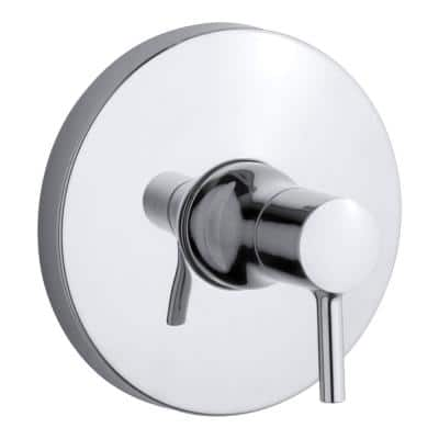 Toobi Rite-Temp 1-Handle Tub and Shower Faucet Trim Kit with Lever Handle in Polished Chrome (Valve Not Included)