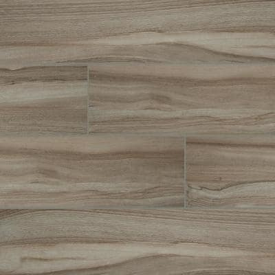 Aspenwood Ash 9 in. x 48 in. Matte Porcelain Floor and Wall Tile (12 sq. ft. / case)