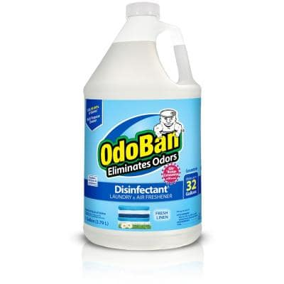 1 Gal. Fresh Linen Disinfectant and Odor Eliminator, Fabric Freshener, Mold Control, Multi-Purpose Cleaner Concentrate