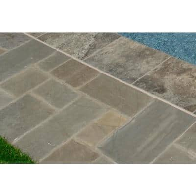 24 in. x 24 in. Silver Travertine Gray Pool Coping (10-Pieces/26.7 sq. ft./Pallet)