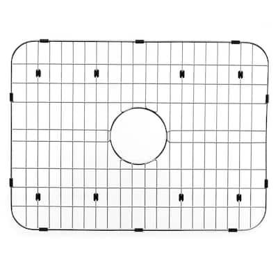 Wirecraft 17.13 in. x 23.44 in. Bottom Grid for Kitchen Sinks in Stainless Steel