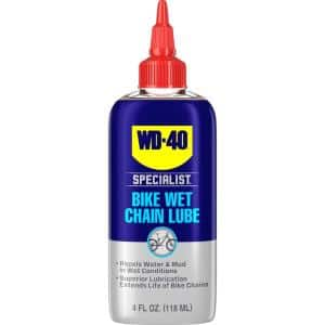 4 oz. Bike Wet Chain Lubricant, High-Performance Lubricant for Muddy & Extreme Conditions