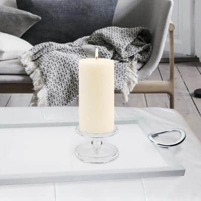 3 in. x 6 in. Timberline Ivory Pillar Candle