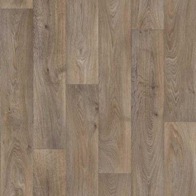 Brown Vinyl Sheet Flooring