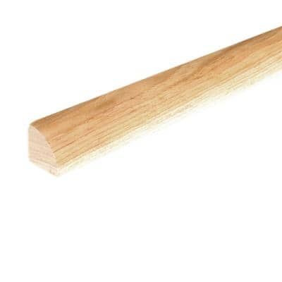 Solid Hardwood Bandit 0.75 in. T x 0.75 in. W x 78 in. L Quarter Round Molding