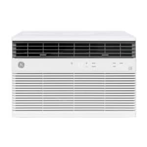8,000 BTU 115-Volt Smart  Window Air Conditioner with WiFi and Remote in White, ENERGY STAR